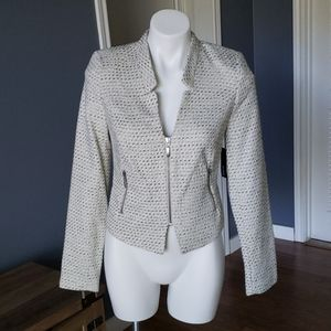 Knit Cropped Blazer